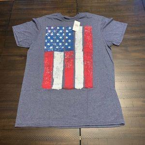 Other - USA 🇺🇸Americana Short Sleeve Flag Tee